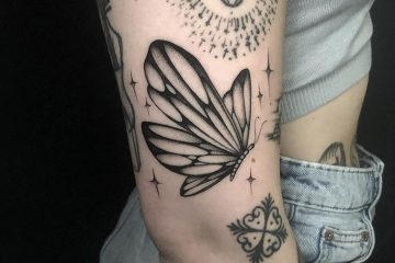 Alex Cream Tattoo Meatshop butterfly