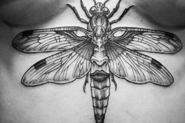 Subliquida Meatshop Tattoo Barcelona 2020 dragonfly