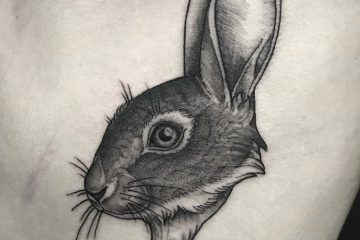 Subliquida Meatshop Tattoo Barcelona 2020 rabbit